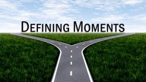 Tuesday's Terrific Topic Idea:  Defining Moments