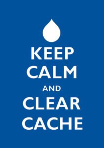 How to Flush Your Cache
