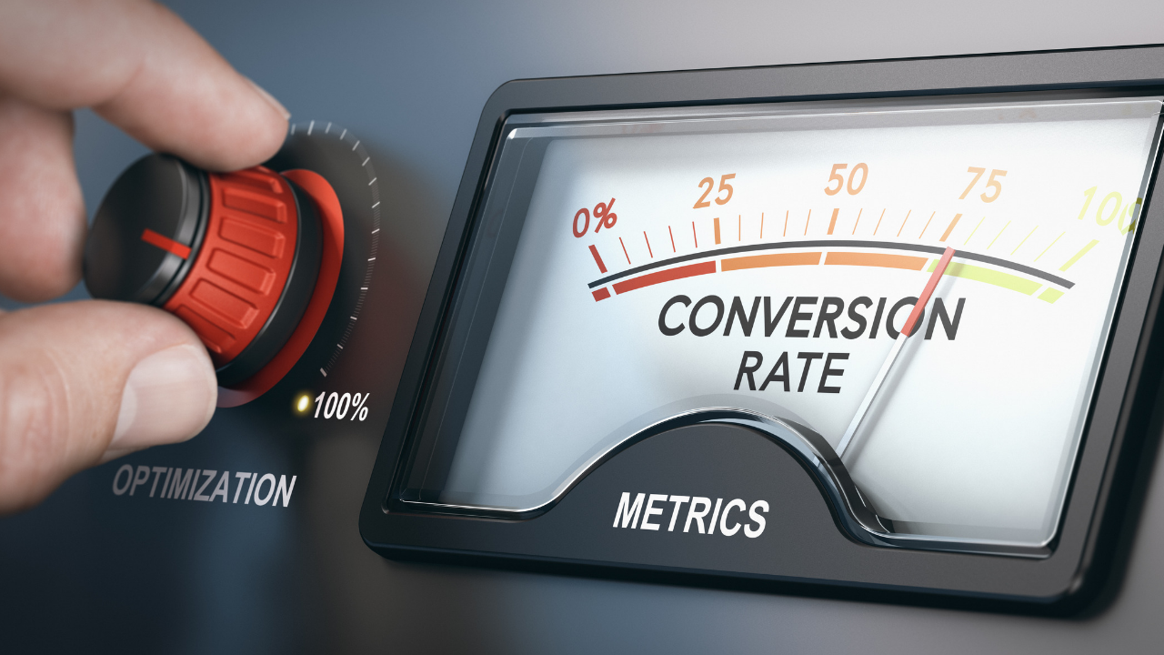What is a conversion rate