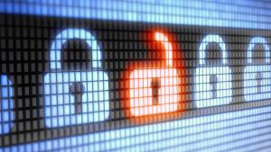 digital locks and a red opened lock ssl certificate