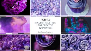 Purple Color Palettes