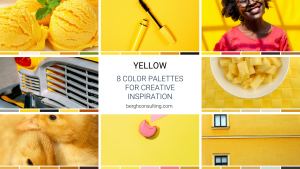 Yellow Color Palettes
