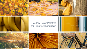 8 Yellow Color Palettes for Creative Inspiration