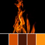 8 Black Color Palettes for Creative Inspiration