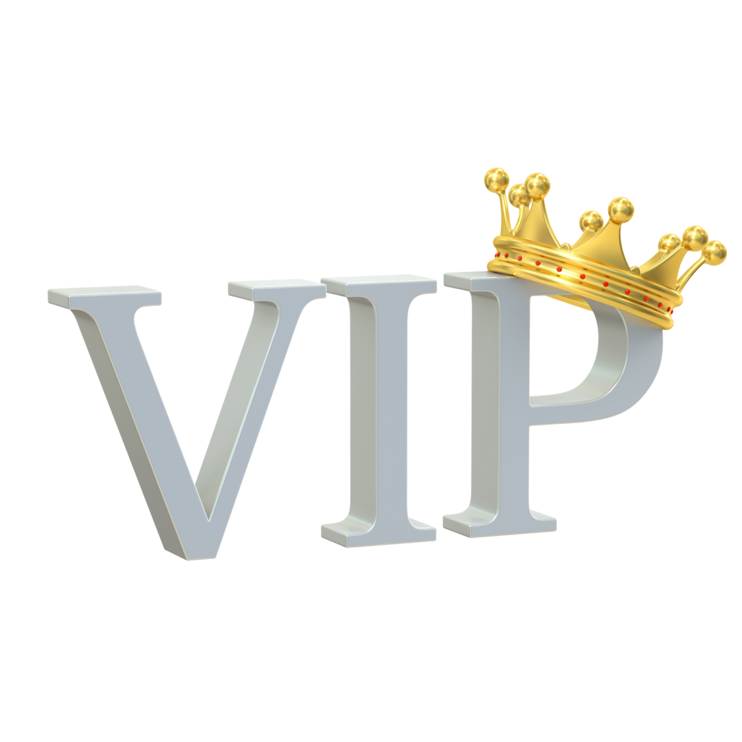 VIP with Crown for VIP Day Offer